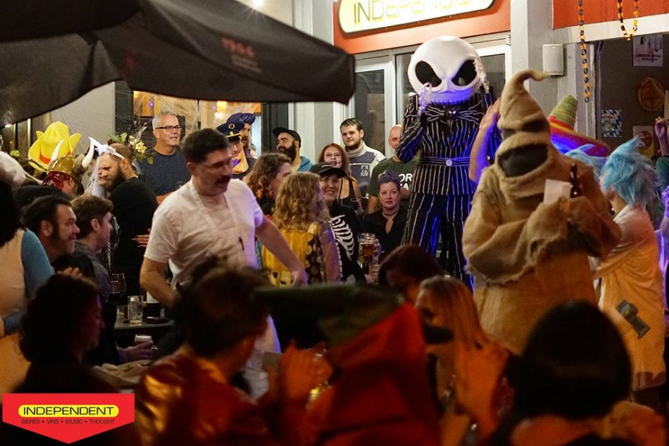 The Indie Halloween Bash and Costume Contest