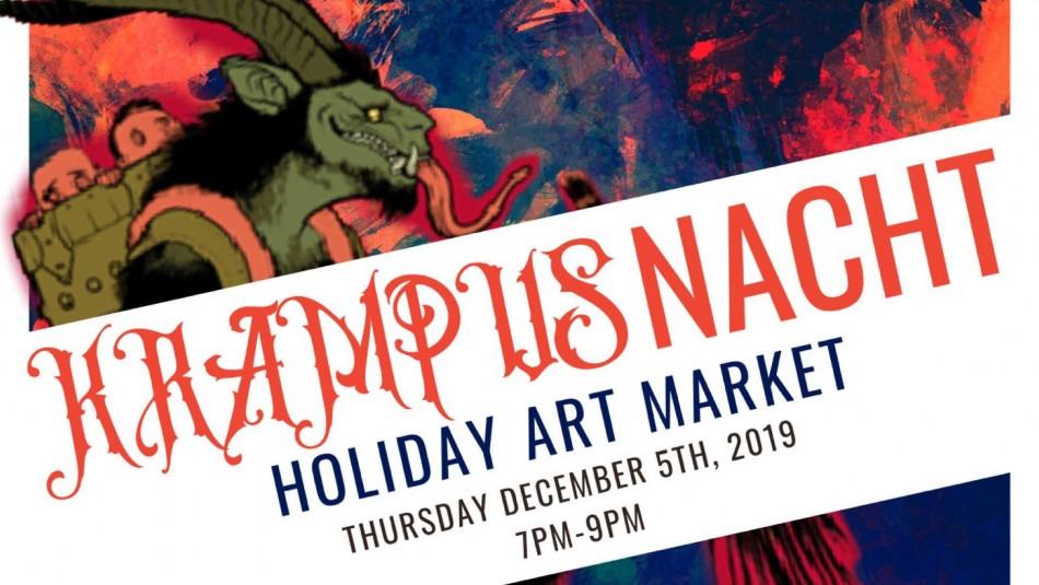 Krampusnacht Holiday Art Market
