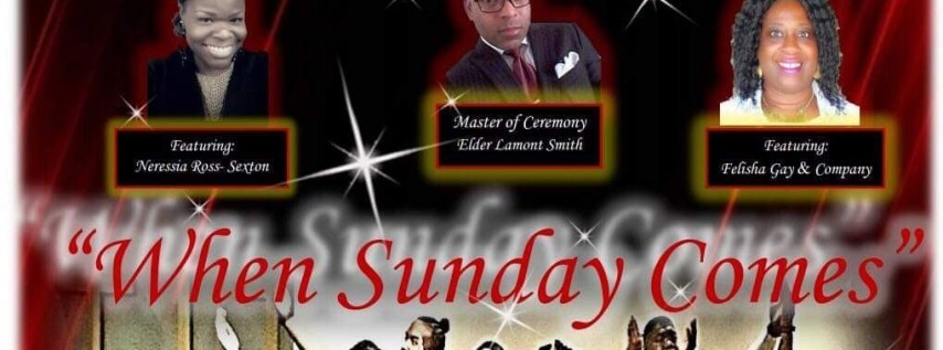 Voices of Praise 1st Annual Concert 'When Sunday Comes'