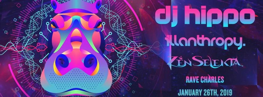 DJ Hippo w/ illanthropy. - Charlotte, NC
