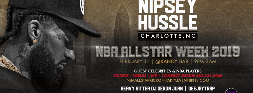 All Star Party Hosted by Nipsey Hussle
