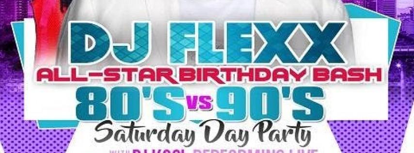 DJ Kool 80s vs 90s All-Star Saturday Day Party