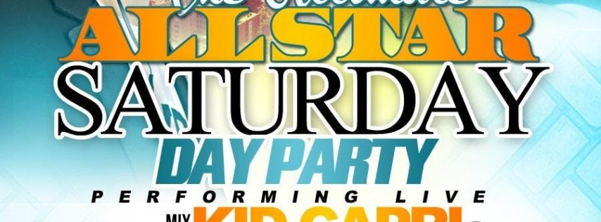 The Ultimate All-Star Saturday Day Party with Kid Capri & DJ Red Alert