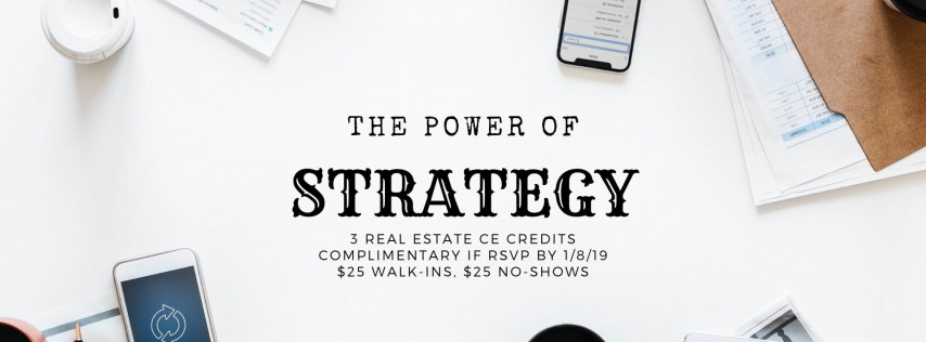 The Power of Strategy