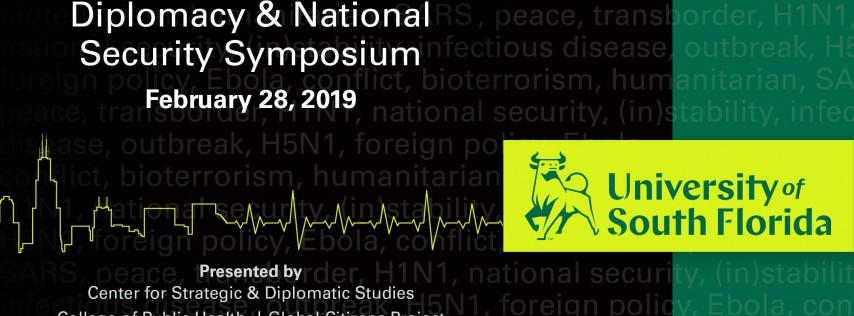 Inaugural Global Health, Diplomacy and National Security Symposium at USF