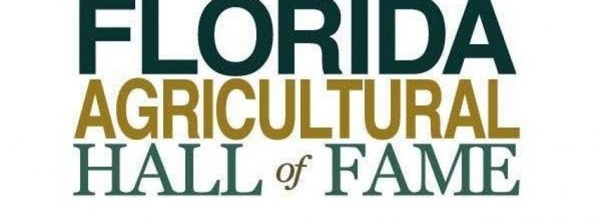 Florida Agricultural Hall of Fame Banquet 2019
