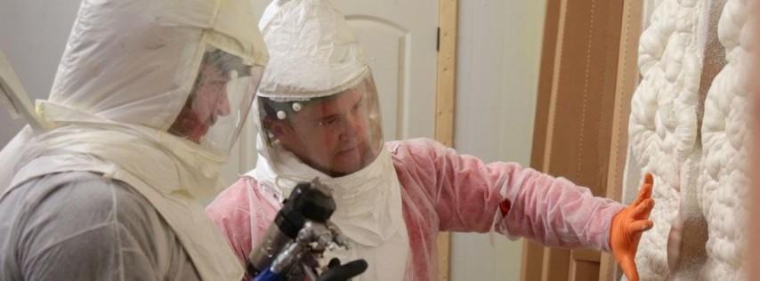 2 Day Fiberglass and Spray Foam Insulation Training | Tampa/Orlando, FL