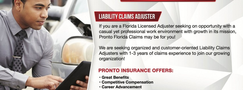 Job Fair - Pronto Insurance