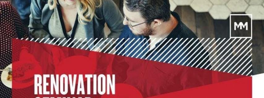 Breakfast & Learn - Renovation Loans Seminar for Realtors