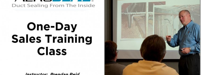 Aeroseal 1-Day Sales Training - Tampa/Brandon/Sarasota FL