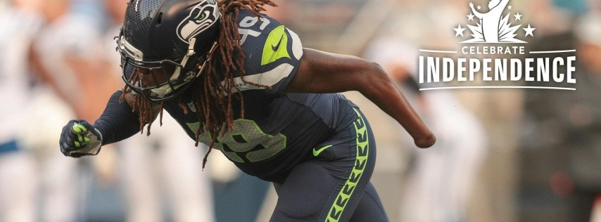 Celebrate Independence 2019 featuring Shaquem Griffin
