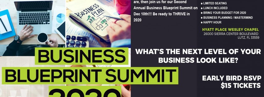 BUSINESS BLUEPRINT SUMMIT 2020