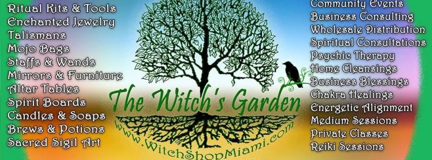 The Witch's Garden Spiritual Gathering