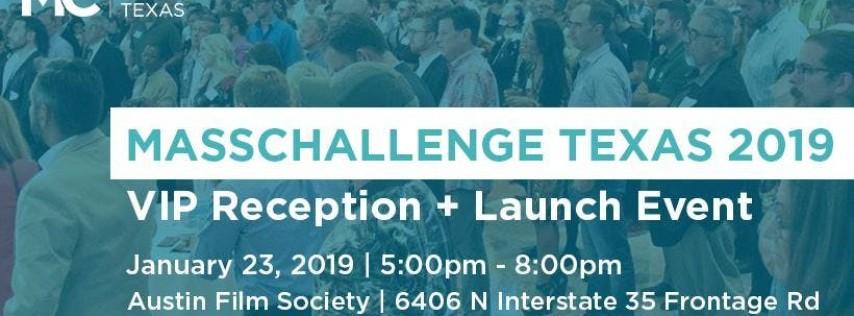 MassChallenge Texas 2019 VIP Reception + Launch Event