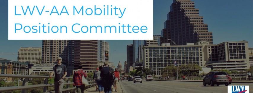 Open Forum: LWV-AA Mobility & Transportation Position Statement Update