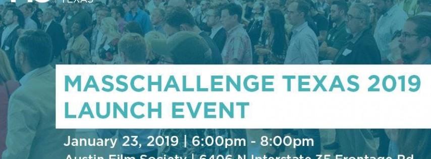 MassChallenge Texas 2019 Launch Event