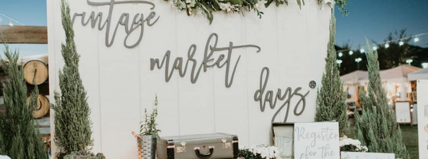 Vintage Market Days® of Asheville presents 'Simply Vintage'