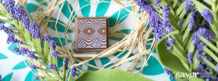 Spring floral: SAVOR chocolate tasting
