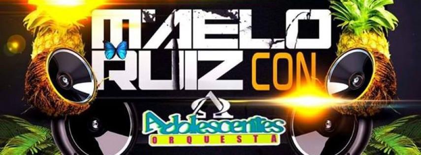 Maelo Ruiz y Los Adolescentes Orquesta en vivo!