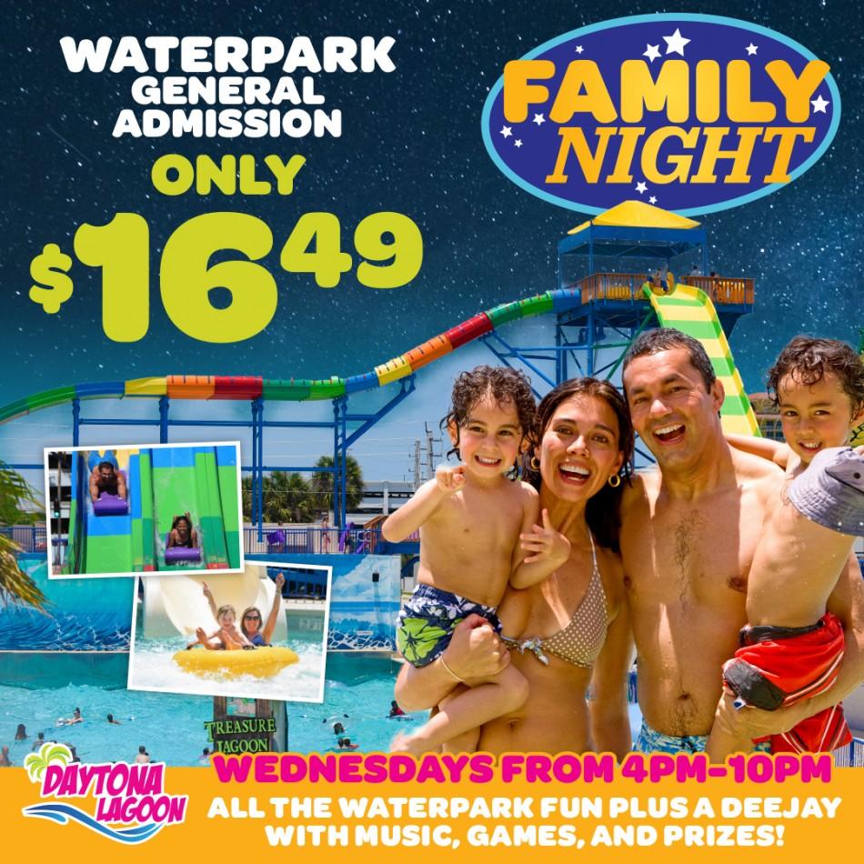 Family Nights at Daytona Lagoon