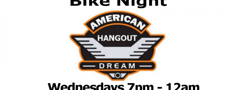 Hookt at the American Dream/Hangout's Bike Night
