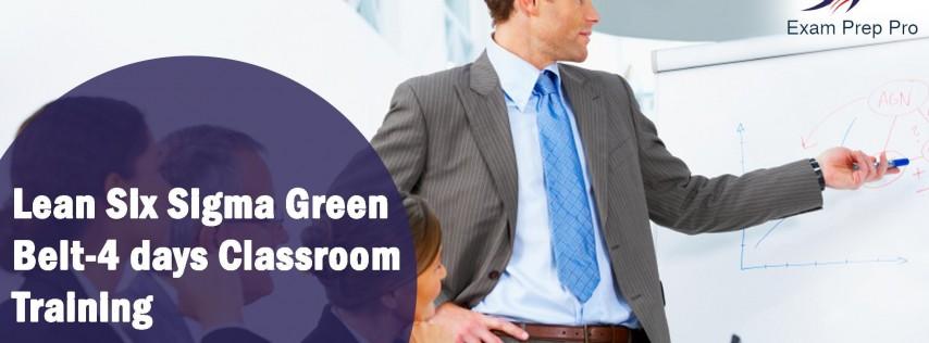 Lean Six Sigma Green Belt(LSSGB)- 4 days Classroom Training, louisville