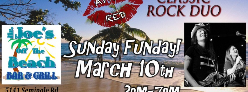 April Red LIVE at Mr. Joe's Off The Beach in Seminole!