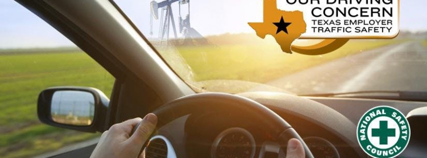 Our Driving Concern: Train-the-Trainer Workshop, TDI, Division of Workers Comp-Austin
