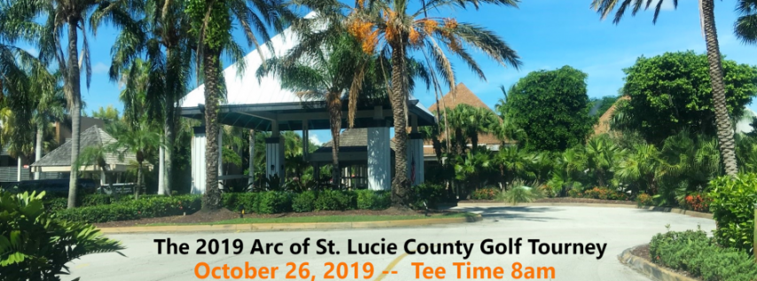 The 2019 Arc of St. Lucie County Golf Tournament