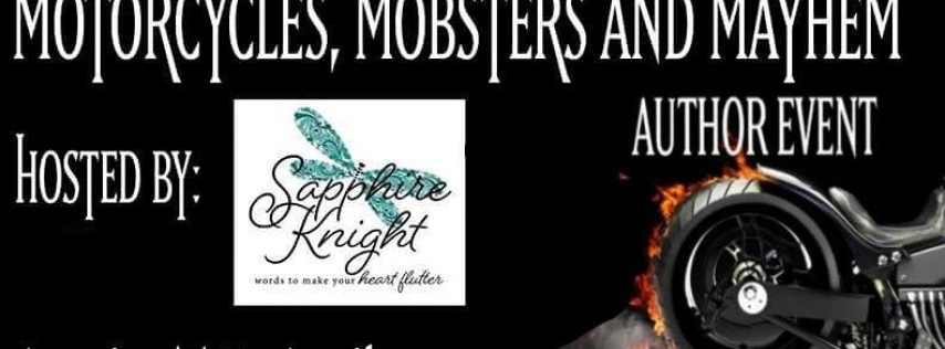 Motorcycles, Mobsters, and Mayhem 2019 Author Event