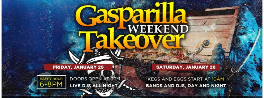 Gasparilla Weekend Takeover @ MacDinton's Irish Pub