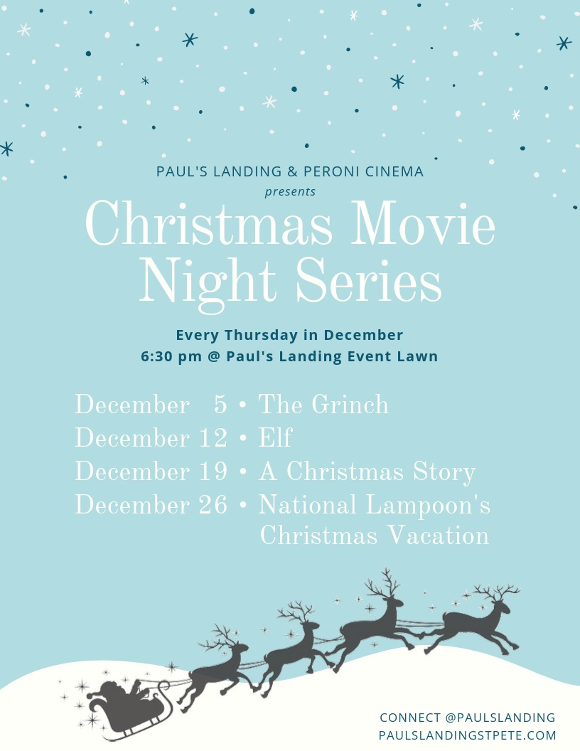 Christmas Movie Night Series: ELF