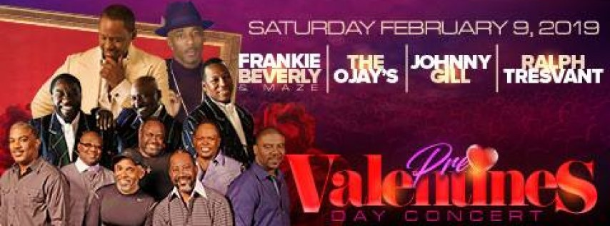 Pre-Valentines Concert with Maze featuring Frankie Beverly and Friends