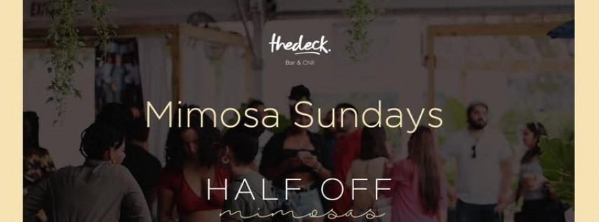 Mimosa Sundays at thedeck Wynwood
