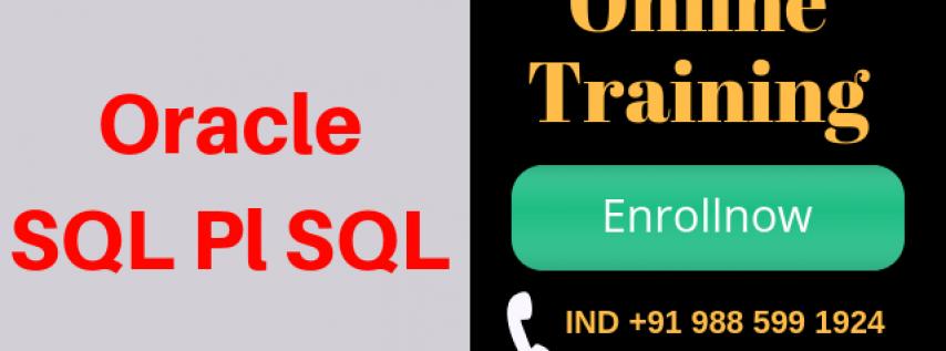 Sql and pl sql online course
