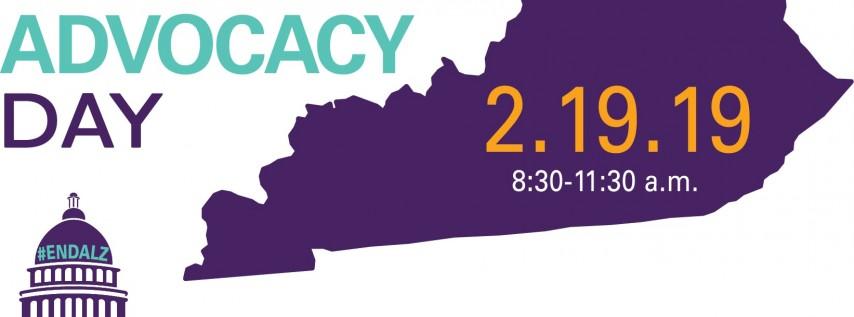 Alzheimer's Association Advocacy Day in Frankfort!