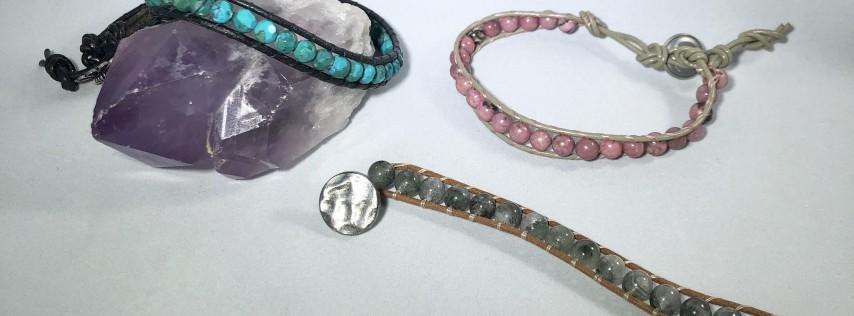 Leather Wrap Bracelets Class