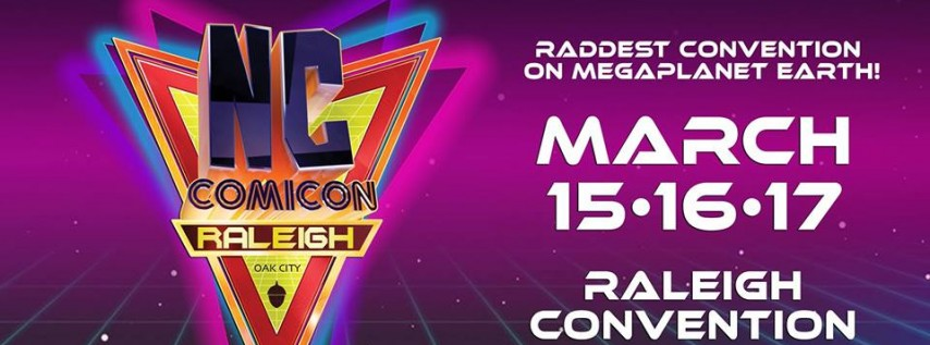 Raleigh NC Comicon 2019