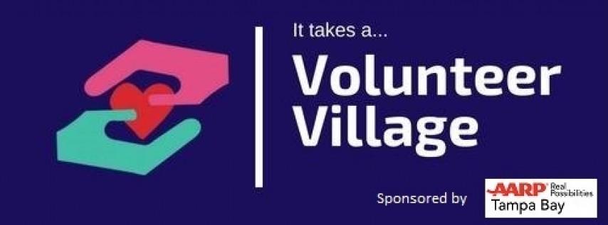 It takes a...Volunteer Village! sponsored by AARP