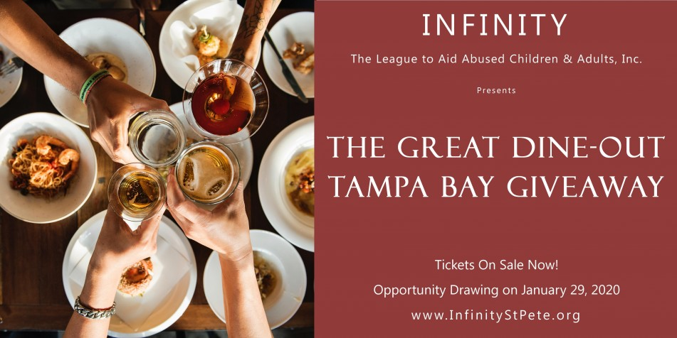 Infinity's Great Dine-Out Tampa Bay Giveaway
