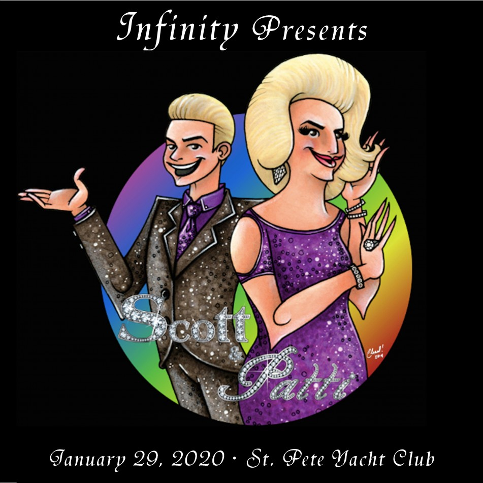 Infinity presents 'The Scott & Patti Show' Charity Fundraiser