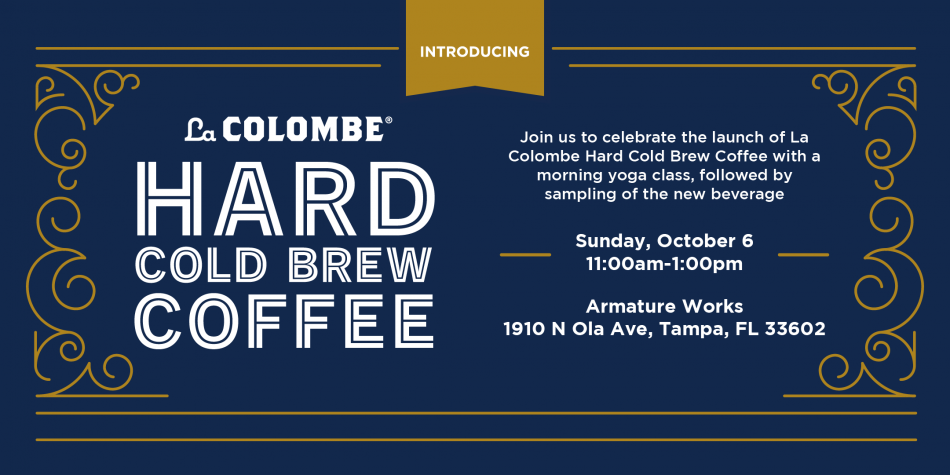 Rise, Flow & Rally with new La Colombe Hard Cold Brew Coffee
