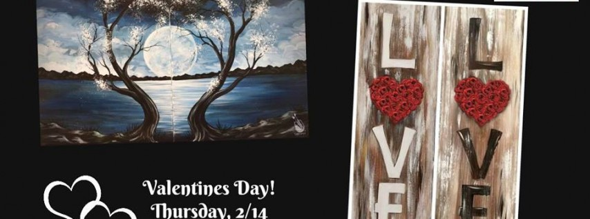 Valentines Day Paint Night!
