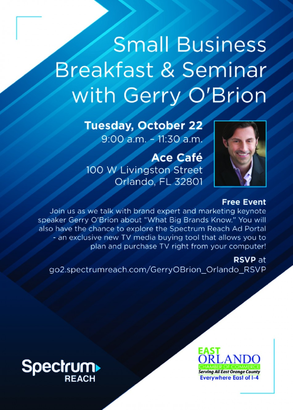 Small Business Breakfast & Seminar with Gerry O'Brion