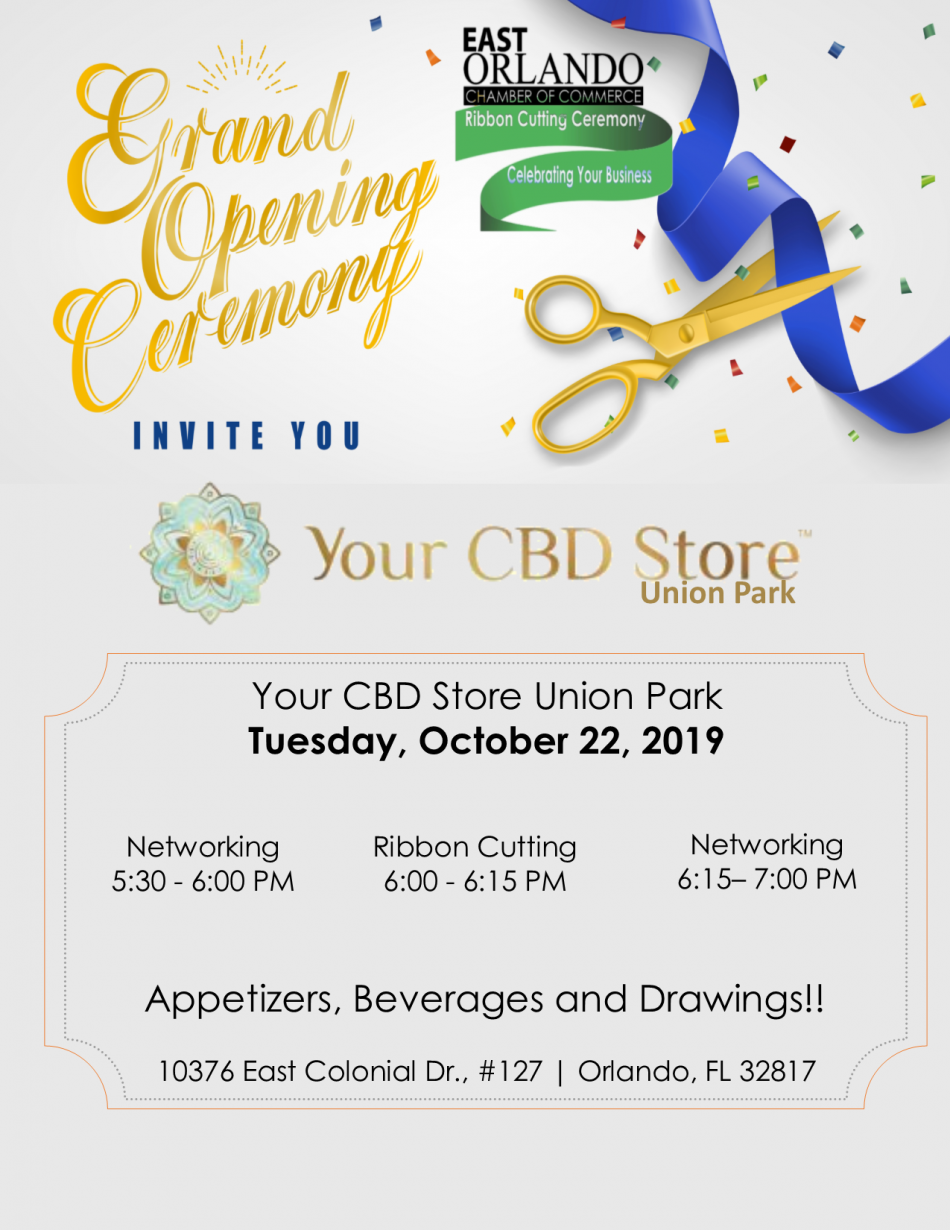Ribbon Cutting: Your CBD Store