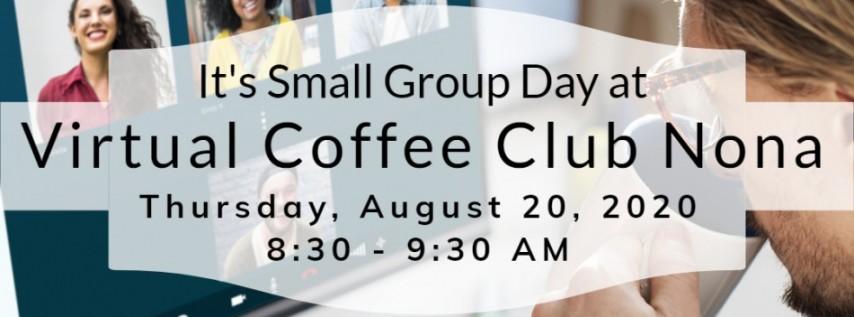 Virtual Coffee Club Nona powered by Powernet