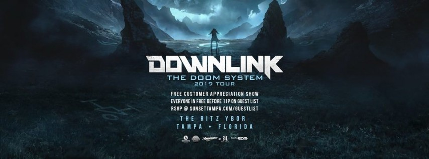 Downlink – The Doom System 2019 Tour