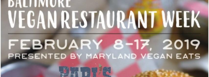 Baltimore Vegan Restaurant Week at Papi's