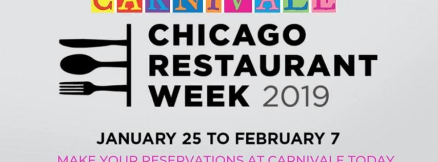 Celebrate Choose Chicago's Restaurant Week at Carnivale