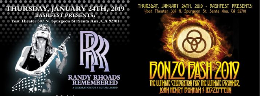 Randy Rhoads Remembered Bonzo Bash 2019